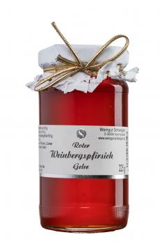 Roter-Weinbergs-Pfirsich-Gelee, 225g, Nr.34P
